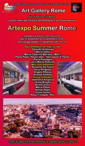locandina Artexpo Summer Rome 2020-xxx